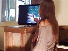 Esposa le gusta mirar online
