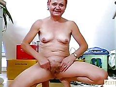 La abuela (71) con extrema kokusmatte