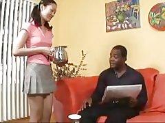 Evelyn lin consigue un gusto de hombre negro y s cum