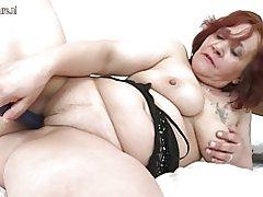 Abuela amateur con gran culo