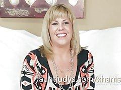 Entrevista de larson de Kayla (con algunos masturbación de bono)