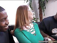 MILF babe kiki daire es entrevistado en dogfart