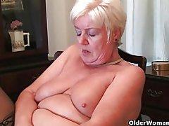 ¿Abuelas británicos todavía masturbarse?