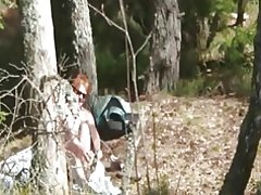 Follar y pelirroja cachonda suizo esposa tira al aire libre