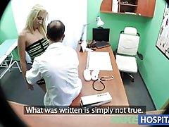 Fakehospital médicos sospechosos sexy mujer tiene sexo