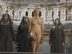 Desnudo de Lena headey en cámara lenta