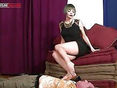 Profesionista Ui034-el primer episodio pie fetiche pisotean